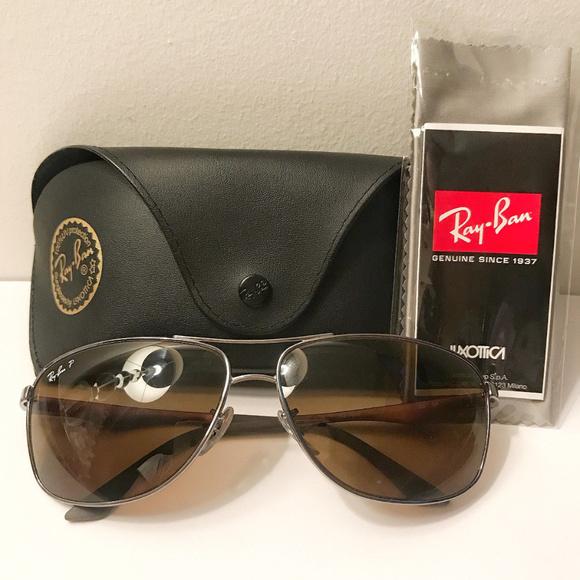 9b477da777  180 Ray Ban RB3506 Sunglasses-132 83 Gunmetal